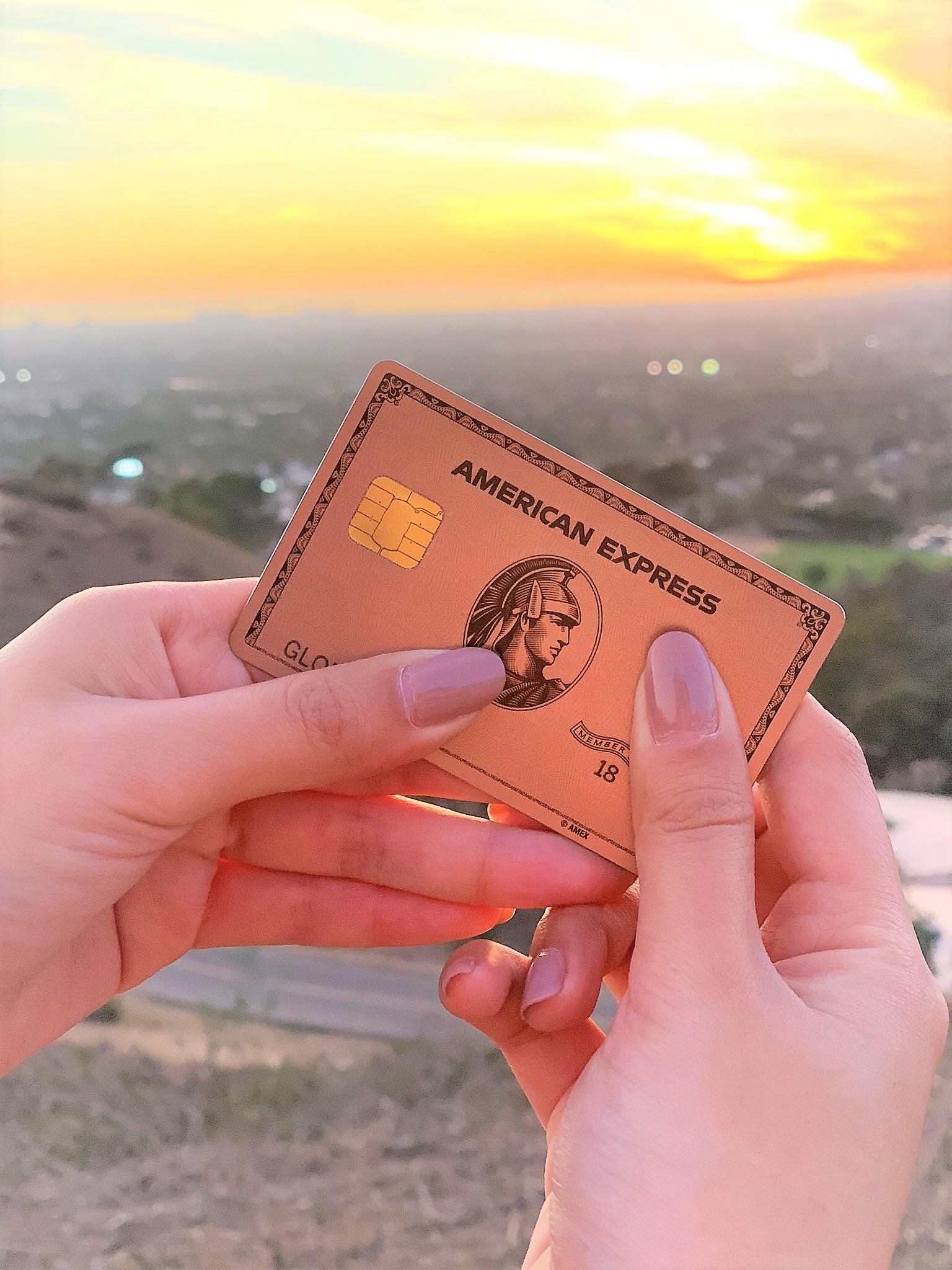 american express rose gold premier credit card