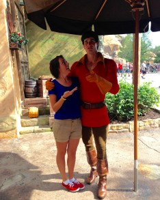 My what a guy, Gaston!