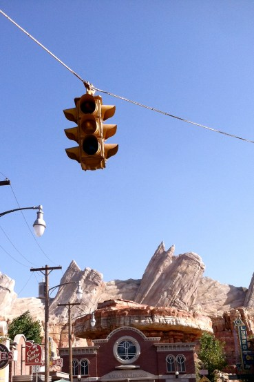 Cars Land, Disneyland California Adventure
