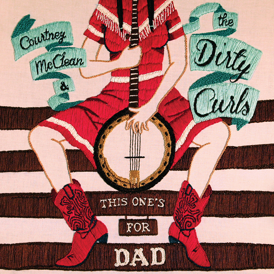 COMEDY/MUSIC NEWS: COURTNEY McCLEAN & THE DIRTY CURLS IS EXPLICIT AMERICANA COMEDY MIRTH/MAYHEM (UNSAFE FOR WORK!)