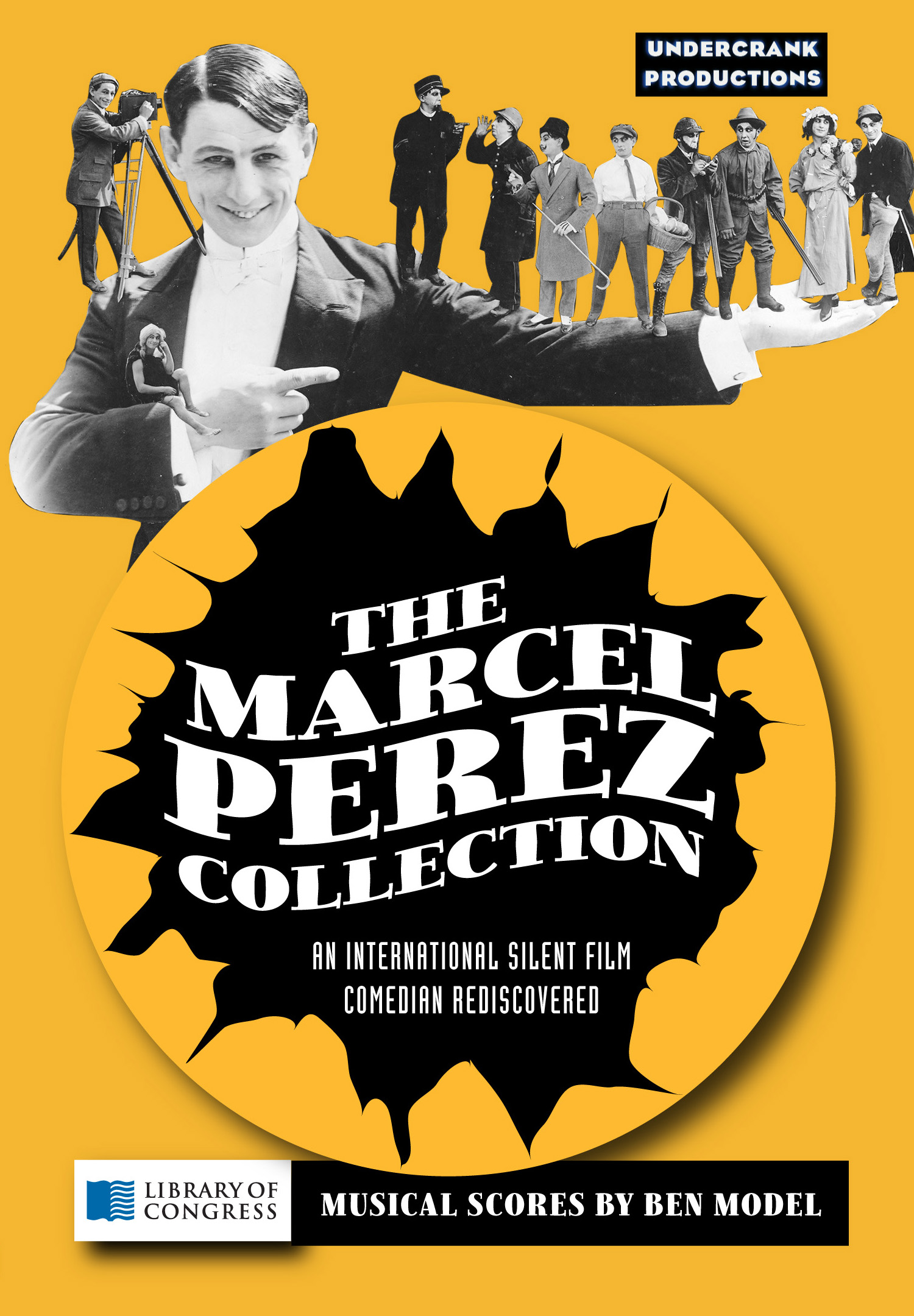 NEW DVD COLLECTION OF FORGOTTEN SILENT FILM STAR MARCEL PEREZ