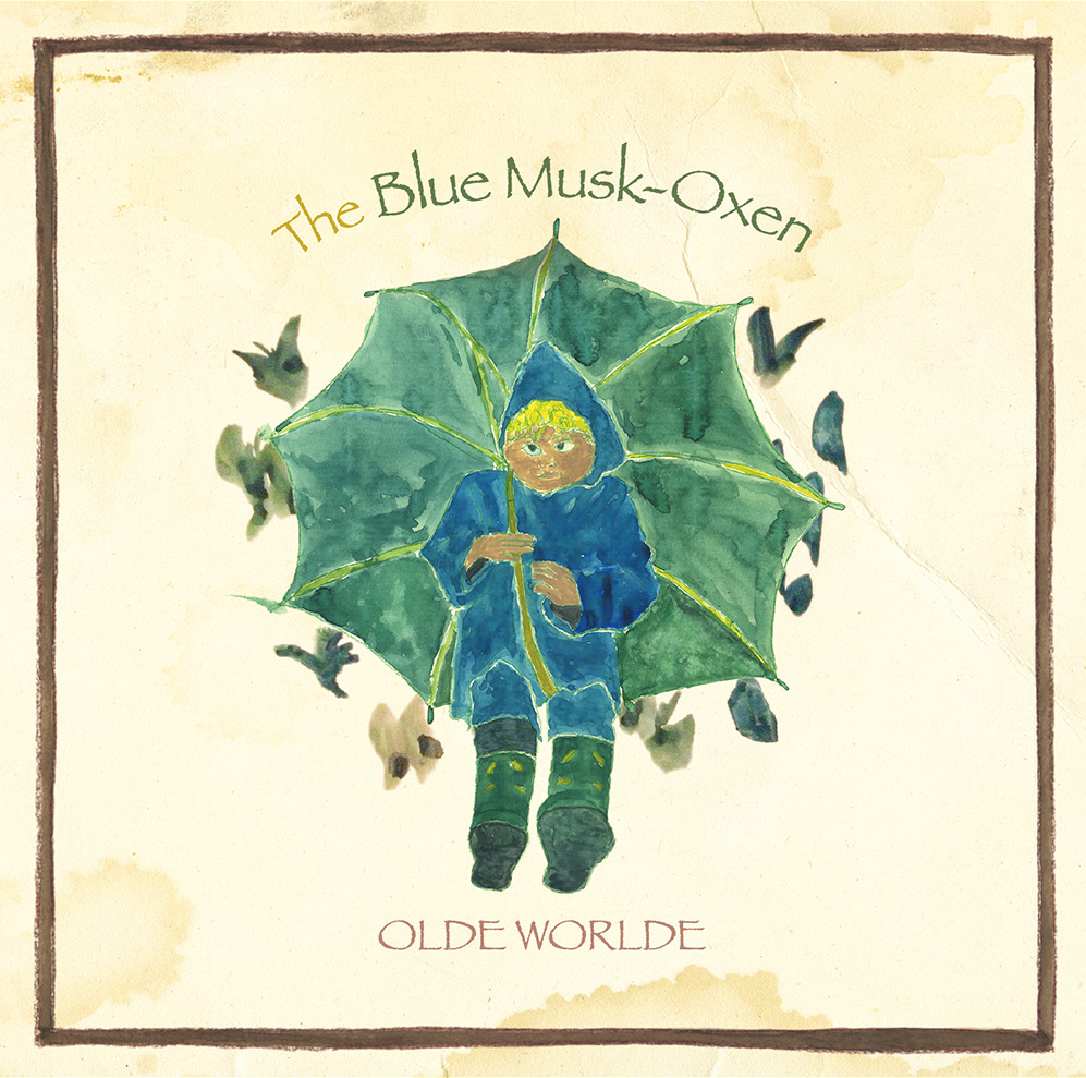 JAPANESE ARTIST OLDE WORLDE & BRAD WOOD COLLABORATE ON US DEBUT THE BLUE MUSK-OXEN