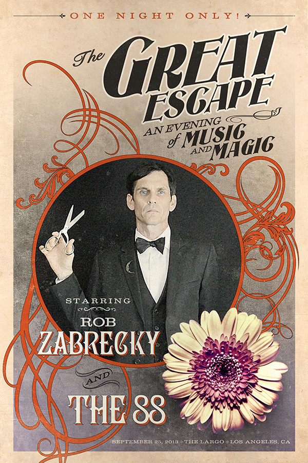 THE 88 AND ROB ZABRECKY CONFIRM INTIMATE LARGO SHOW ON SEPT. 25!