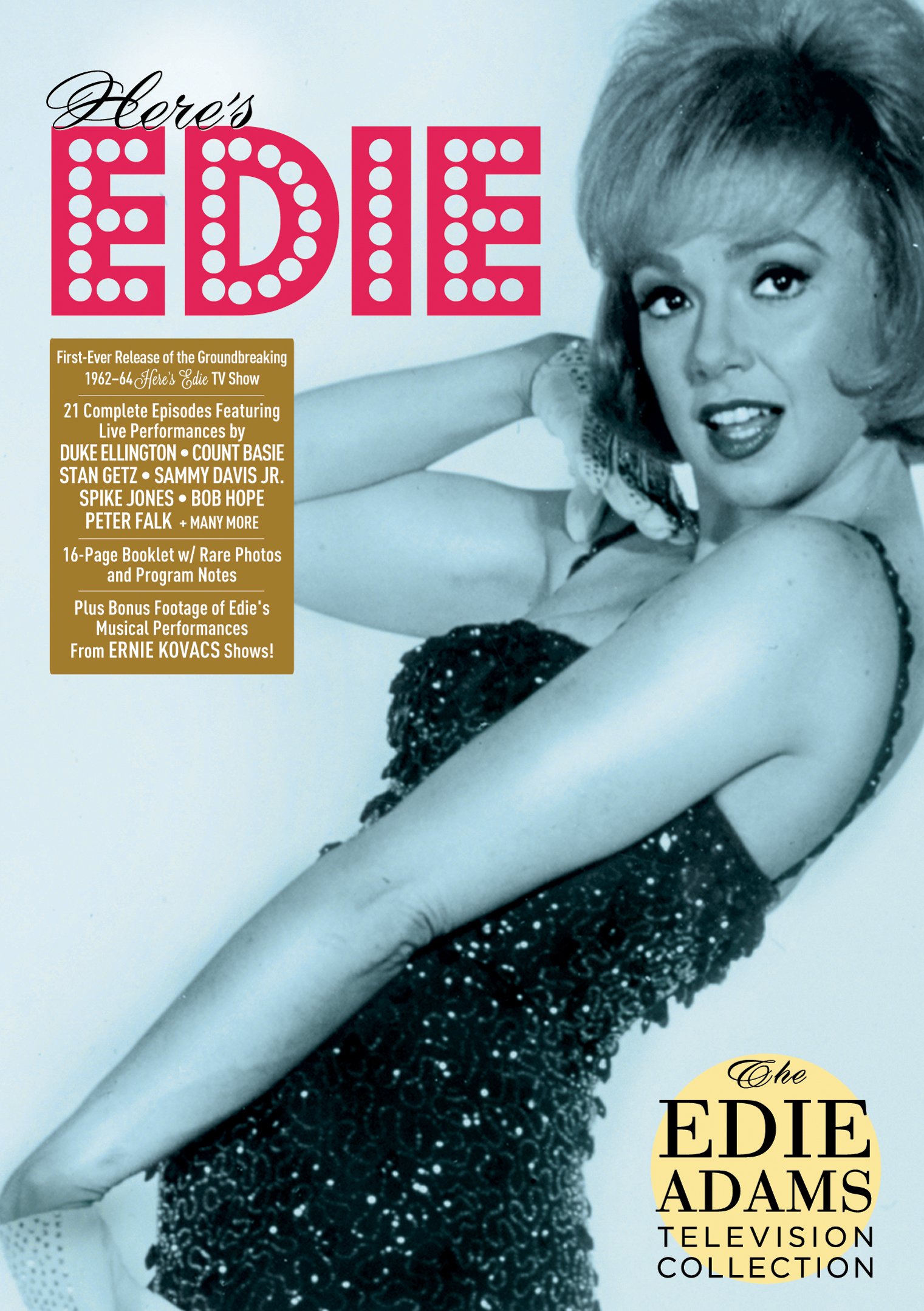Edie Adams Television Collection from Mid-1960's Comes to DVD – Never-Seen Since Original Broadcast + Bonus Footage of Ernie Kovacs