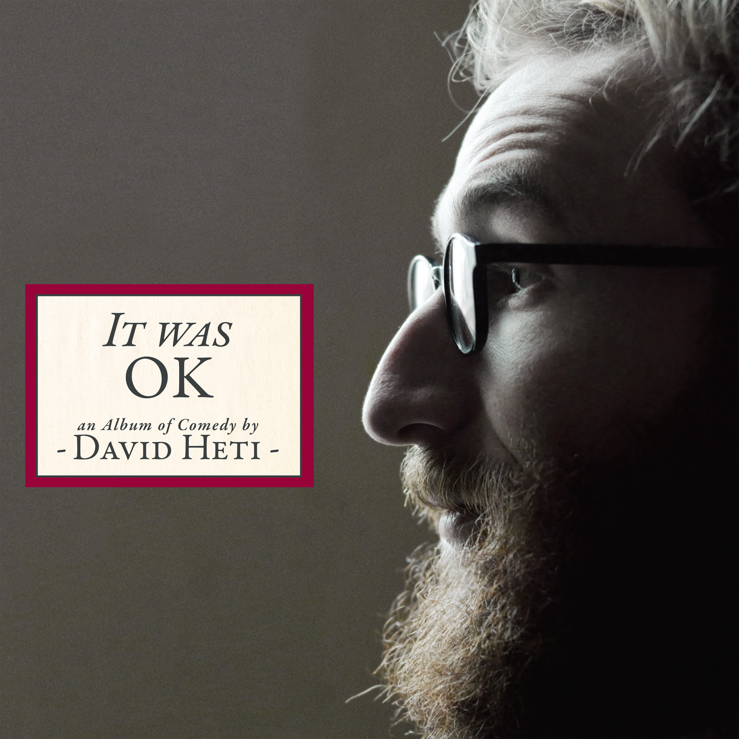 COMEDY NEWS – IT WAS OK FROM COMEDIAN DAVID HETI SET FOR RELEASE ON MAY 5 ON STAND UP! RECORDS