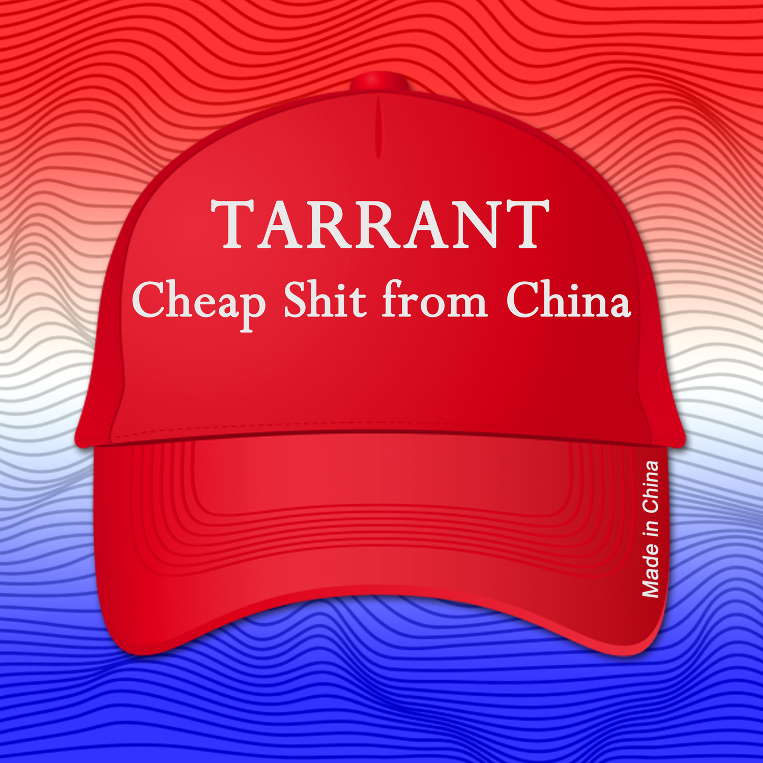 "Trump Inspired, Consumerism Mired Video ""Cheap Shit From China"" from Tarrant out Tomorrow"