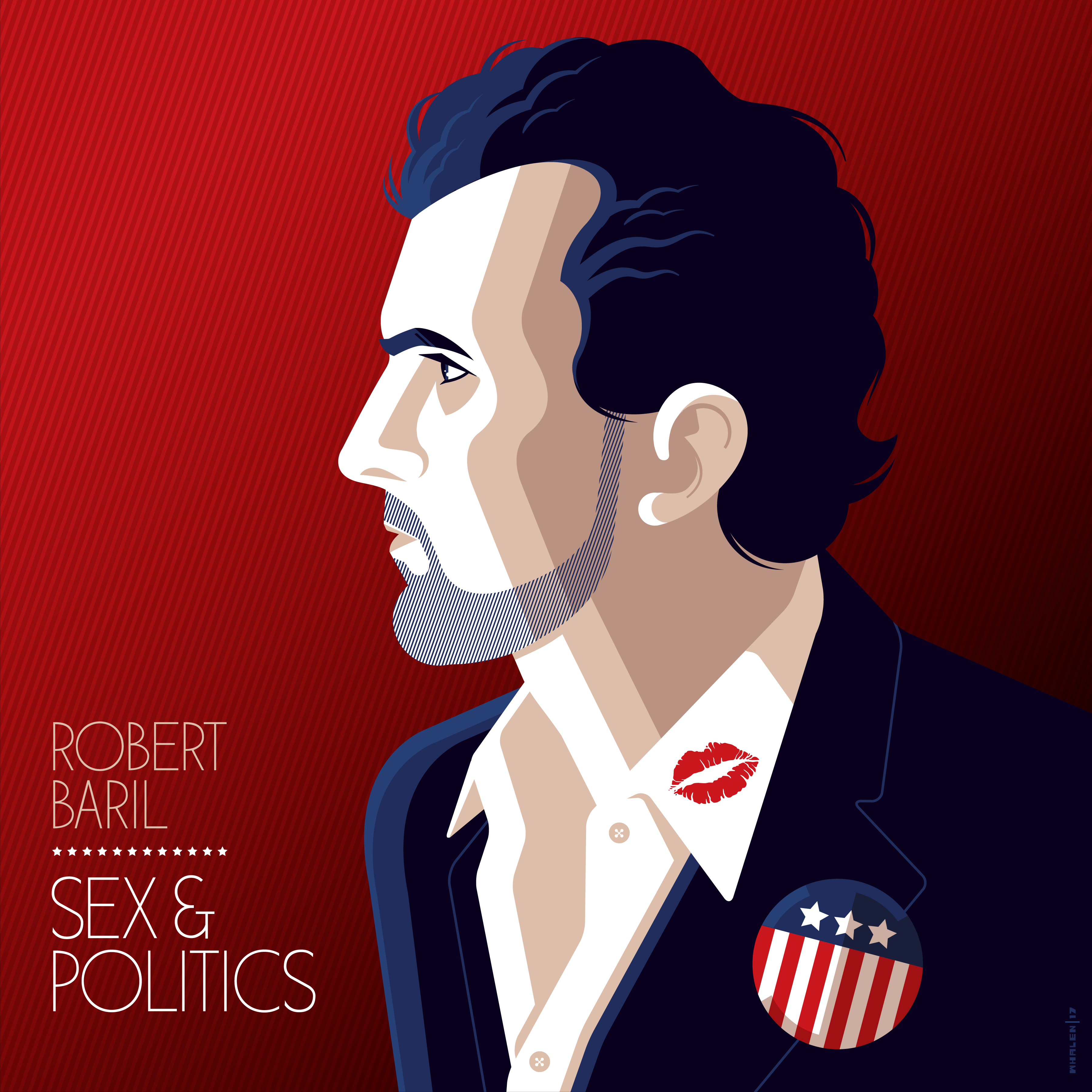 COMEDY NEWS:ROBERT BARIL SEX & POLITICS OUT FRIDAY JULY 21 ON STAND UP! RECORDS