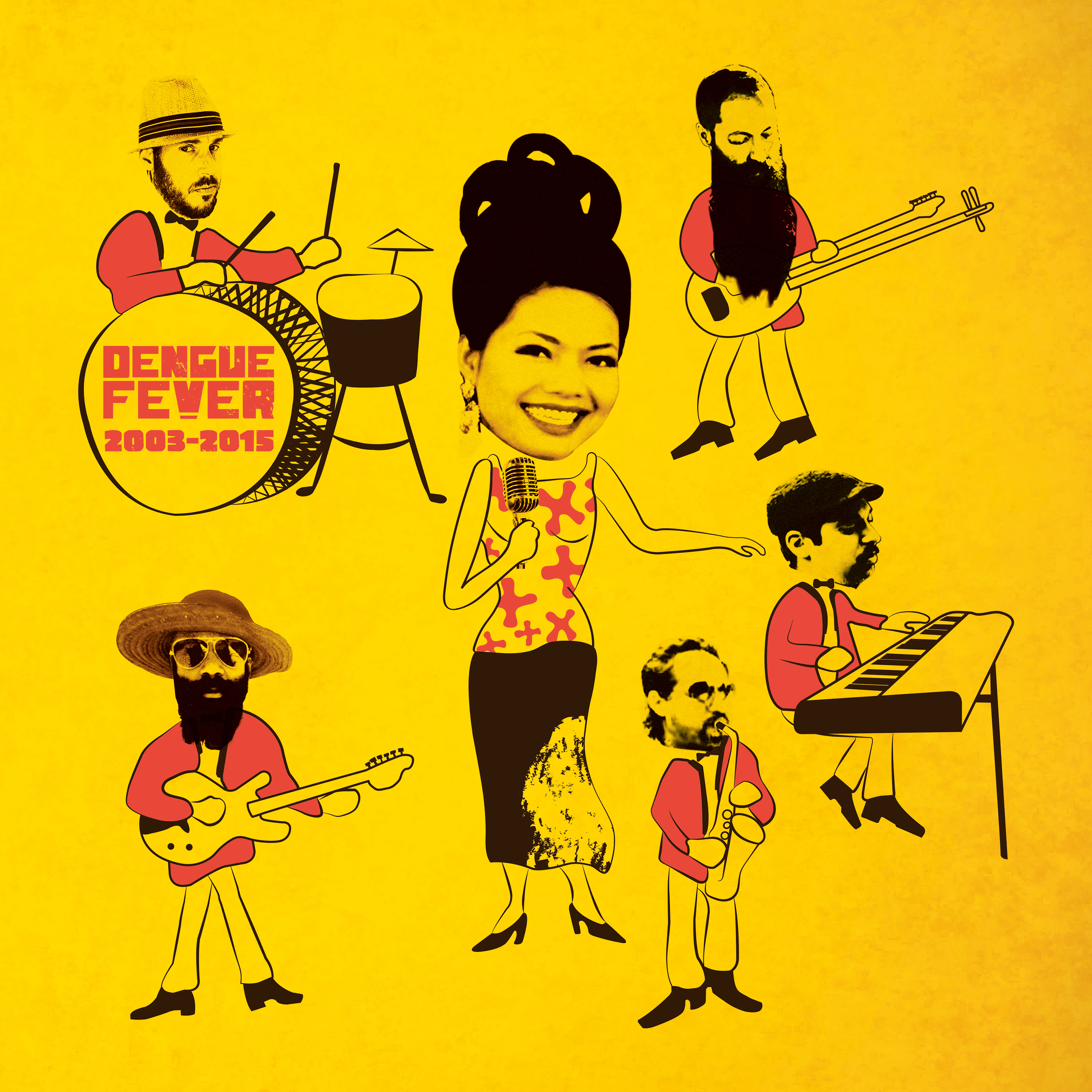 DENGUE FEVER Surprise Drops New Vinyl Today