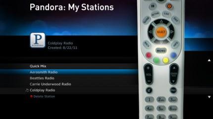 Pandora Internet Radio comes to DIRECTV