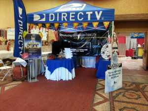 Its All About Satellites DIRECTV Booth at Fiery Foods Show 2013