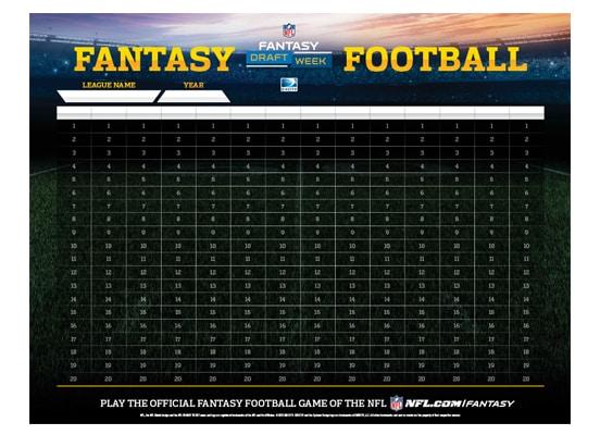 NFL Fantasy Football Draft Kits