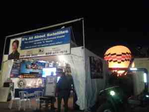 Its All About Satellites & DIRECTV at Balloon Fiesta