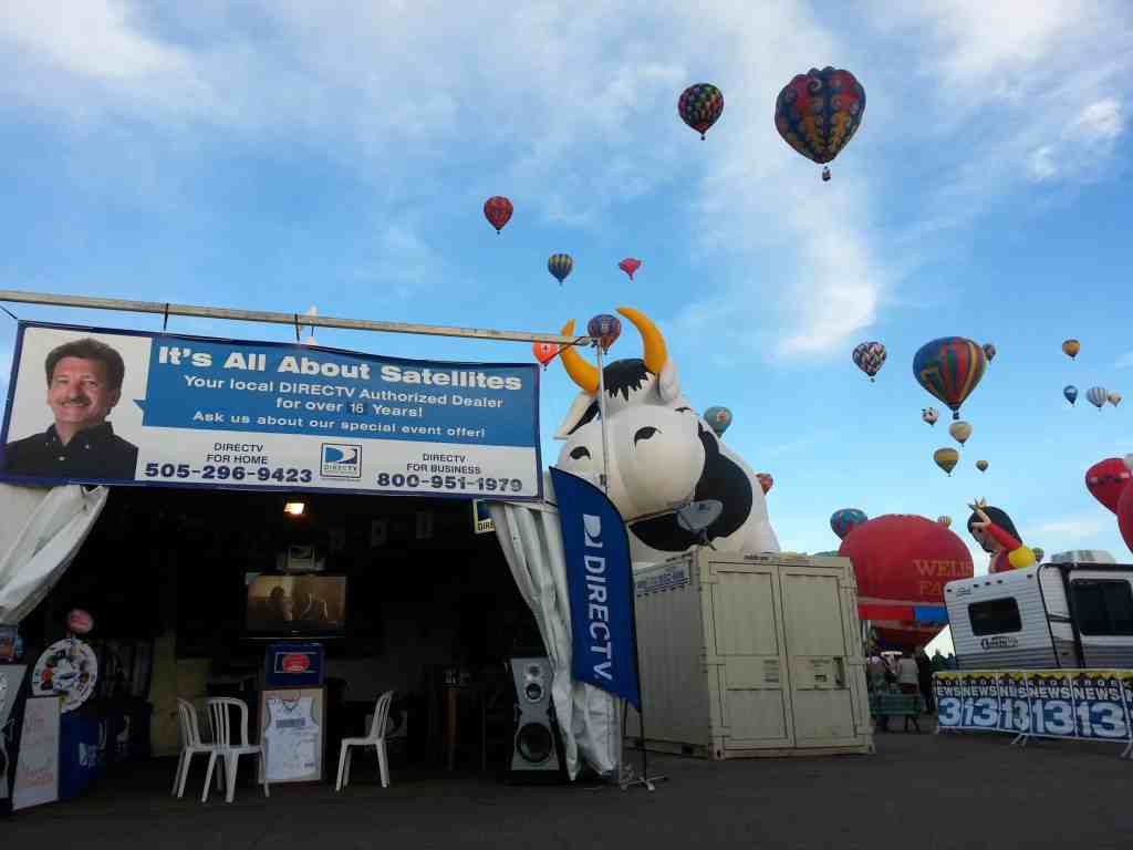 Its All About Satellites and DIRECTV at Balloon Fiesta
