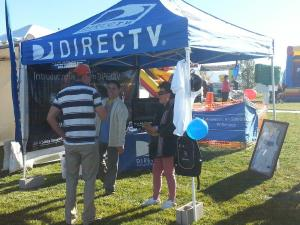 Its All About Satellites and DIRECTV at Bacon Fest