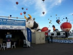 Its All About Satellites DIRECTV at Albuquerque Balloon Fiesta