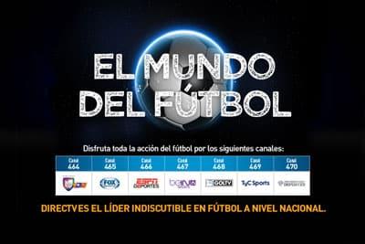 World Soccer Ticket on DIRECTV - El Mundo Del Futbol