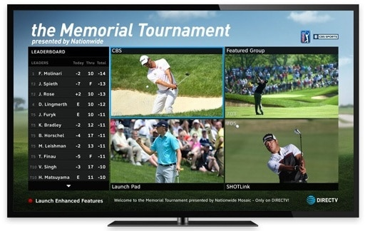The Memorial Tournament Golf Mix Channel Exclusively on DIRECTV - Its All About Satellites