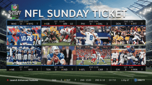 NFL Sunday Ticket Mix Channel - Exclusively on DIRECTV - ITS ALL ABOUT SATELLITES Authorized DIRECTV Dealer