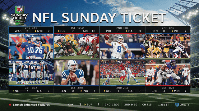 NFL Sunday Ticket Game Mix Channel - Exclusively on DIRECTV - ITS ALL ABOUT SATELLITES Authorized DIRECTV Dealer