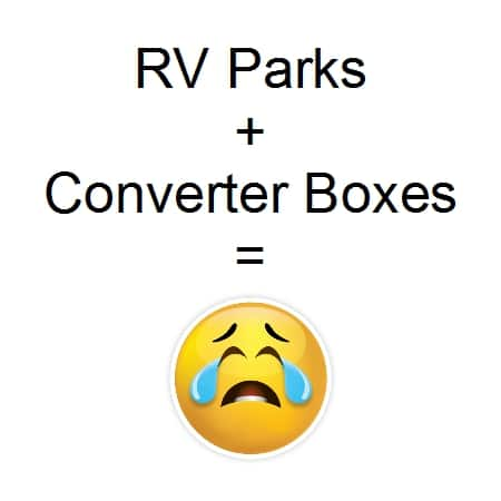 RV Parks Cable TV Converter Boxes