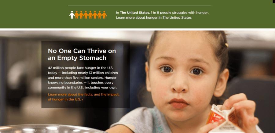 US Hunger Relief Organization I Feeding America