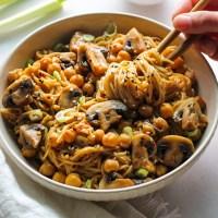 Miso Sesame Noodles