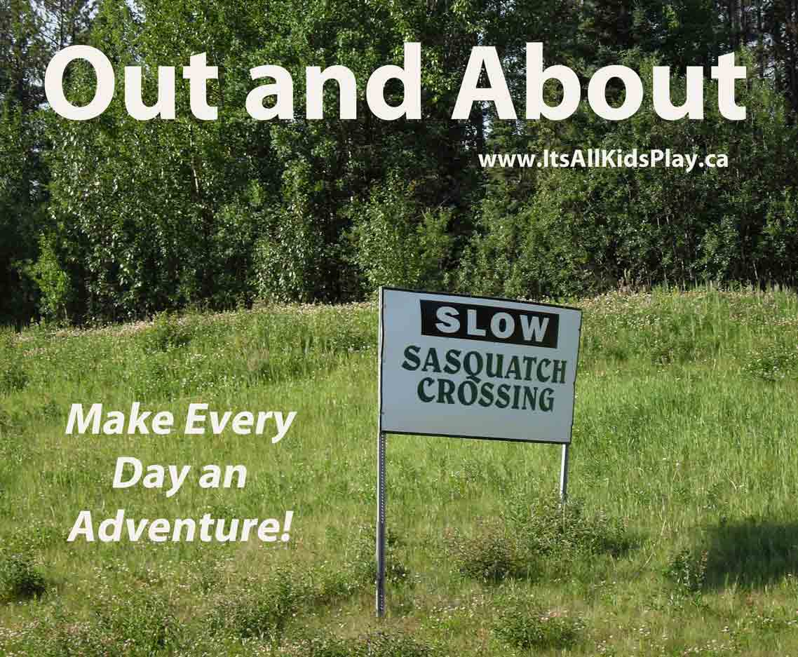 Out and About-- Activities for Kids and Families (make every day an adventure)