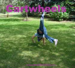 Cartwheels Gymnastics for kids