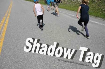 Kids playing Shadow Tag: How to Play Shadow Tag