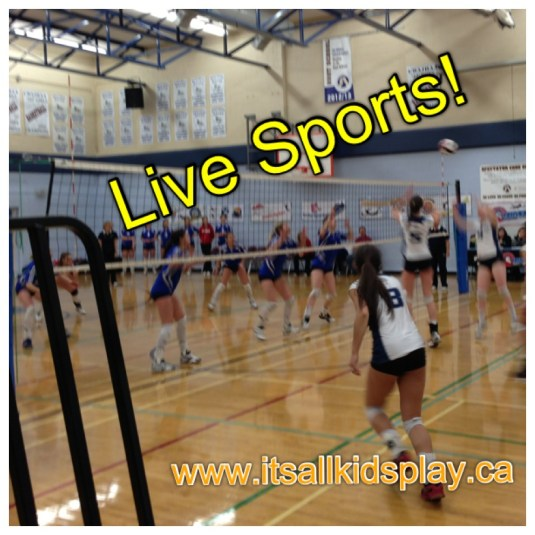 Live sports--volleyball