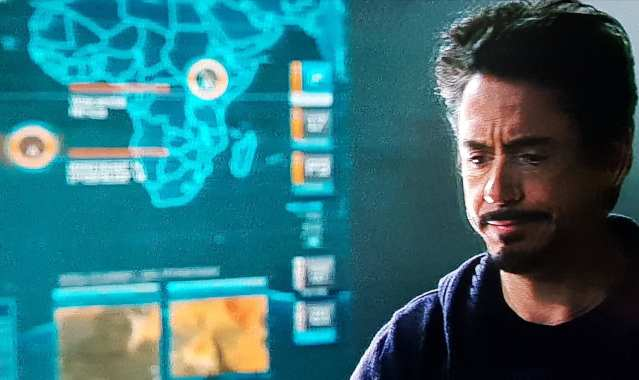 Map in Iron Man 2 shows Wakanda and a random spot in the ocean, rumored to be Atlantis. Home to Namor.
