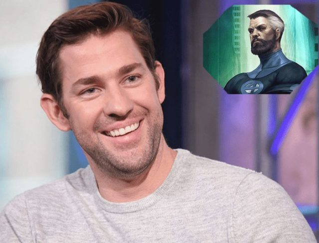 """Krasinski on the possibility of playing Reed Richards in MCU: """"I would love to do it"""""""