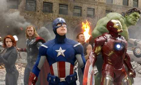 """Bruce Banner: """"that's my secret Cap, I'm always angry"""""""