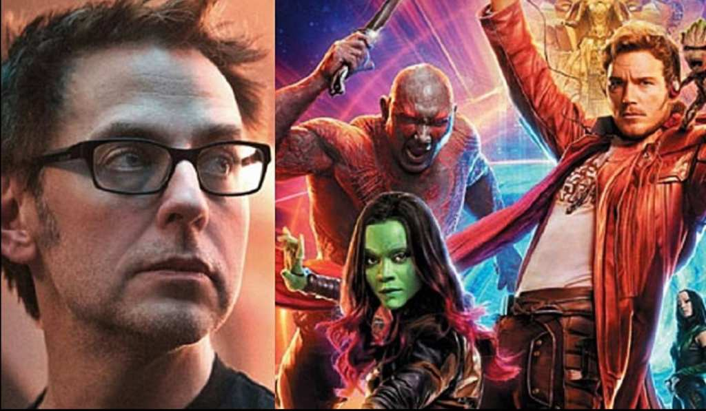 James Gunn and the Guardians of the Galaxy
