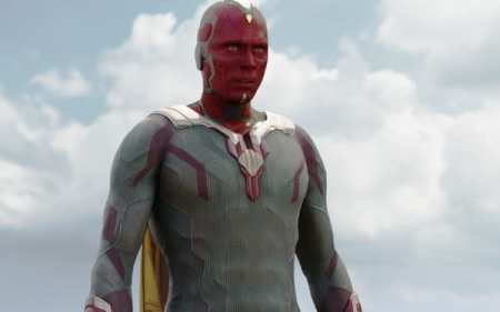 Vision is the fifth strongest Avengers.