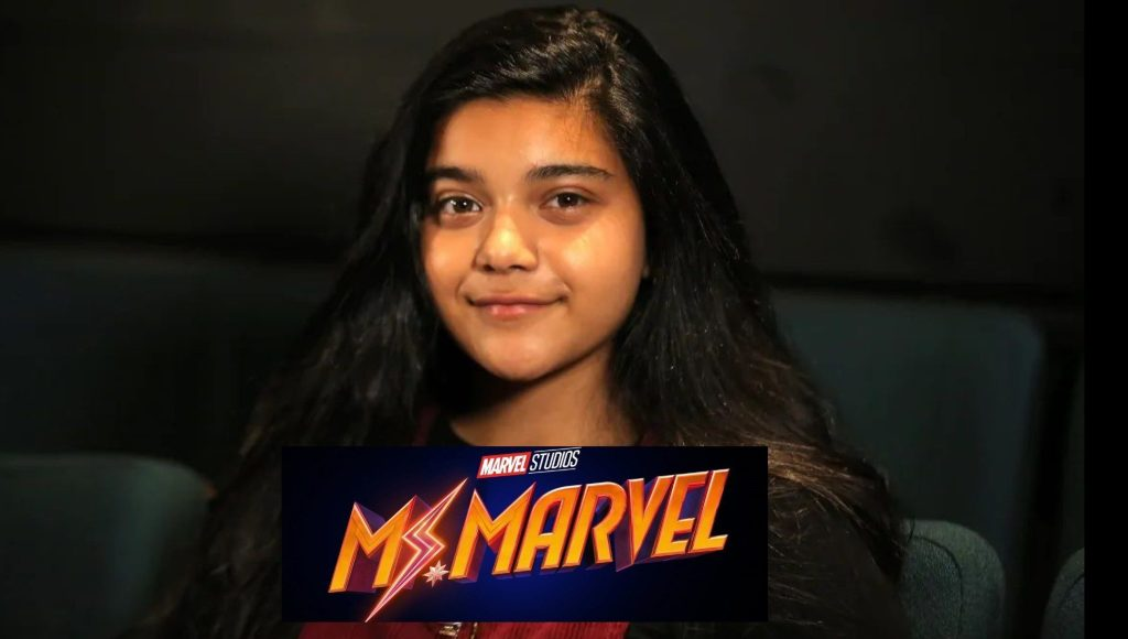 Get your first look at Iman Vellani as Kamala Kahn on the set of Ms. Marvel