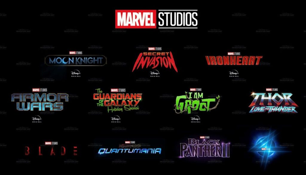 Recap of Marvel Studios' presentation at Disney's Investor Day