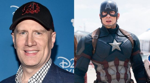 Kevin Feige responds to reports that Chris Evans is returning to the MCU