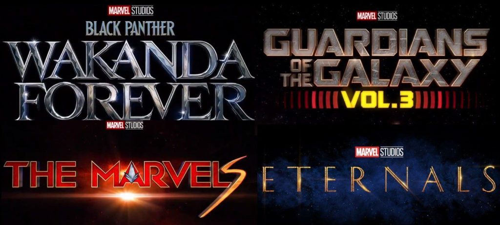 Marvel Studios releases reel of upcoming films, includes first footage of Eternals