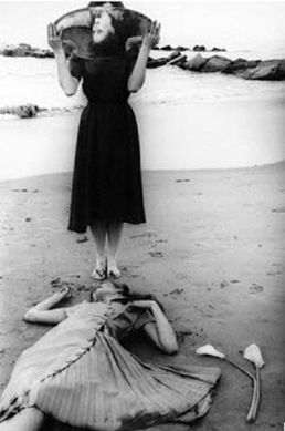 "photograph ""Illusions"" by Francesca Woodman"