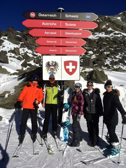 squad crossing boarder with Switzerland