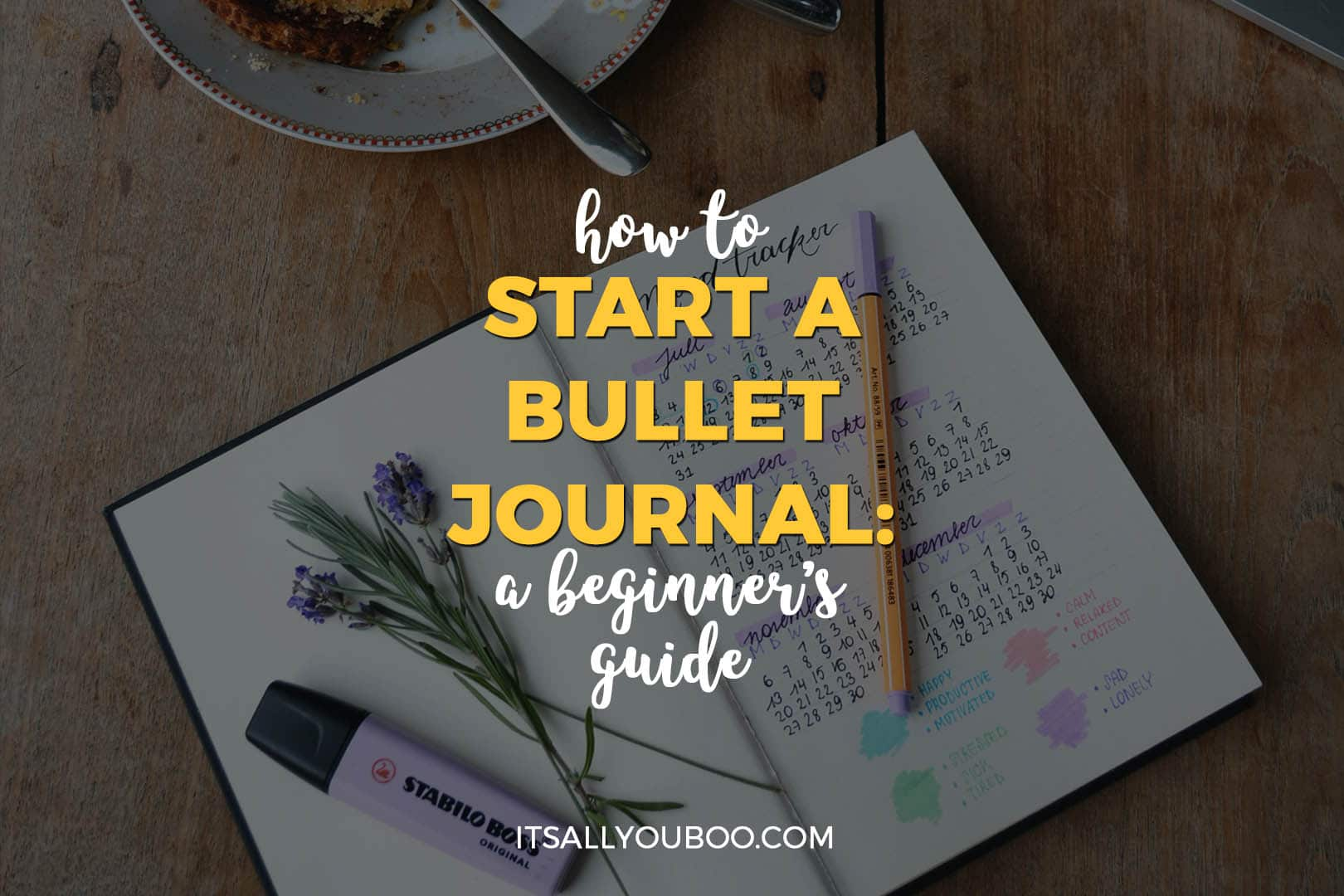 How to Start a Bullet Journal: A Beginner's Guide