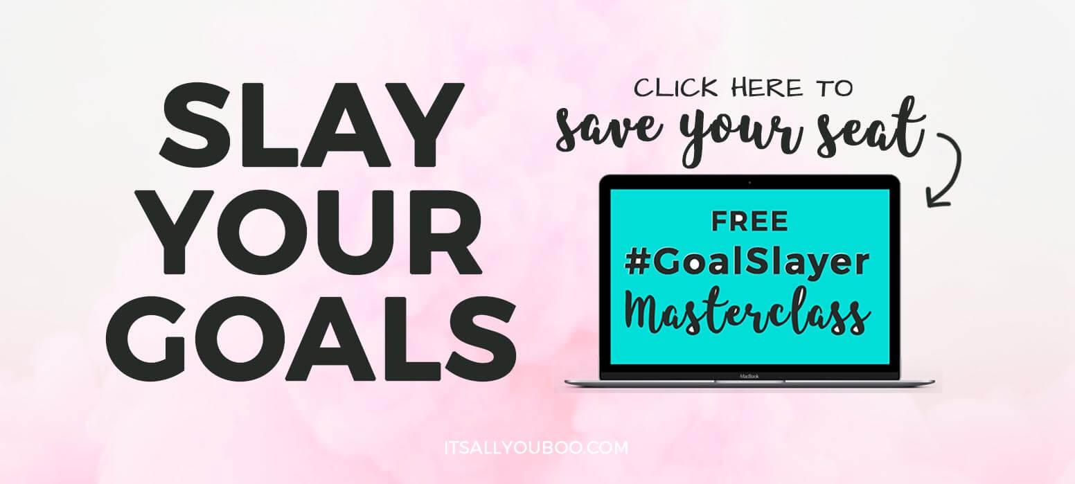 Goal Slayer Masterclass RSVP