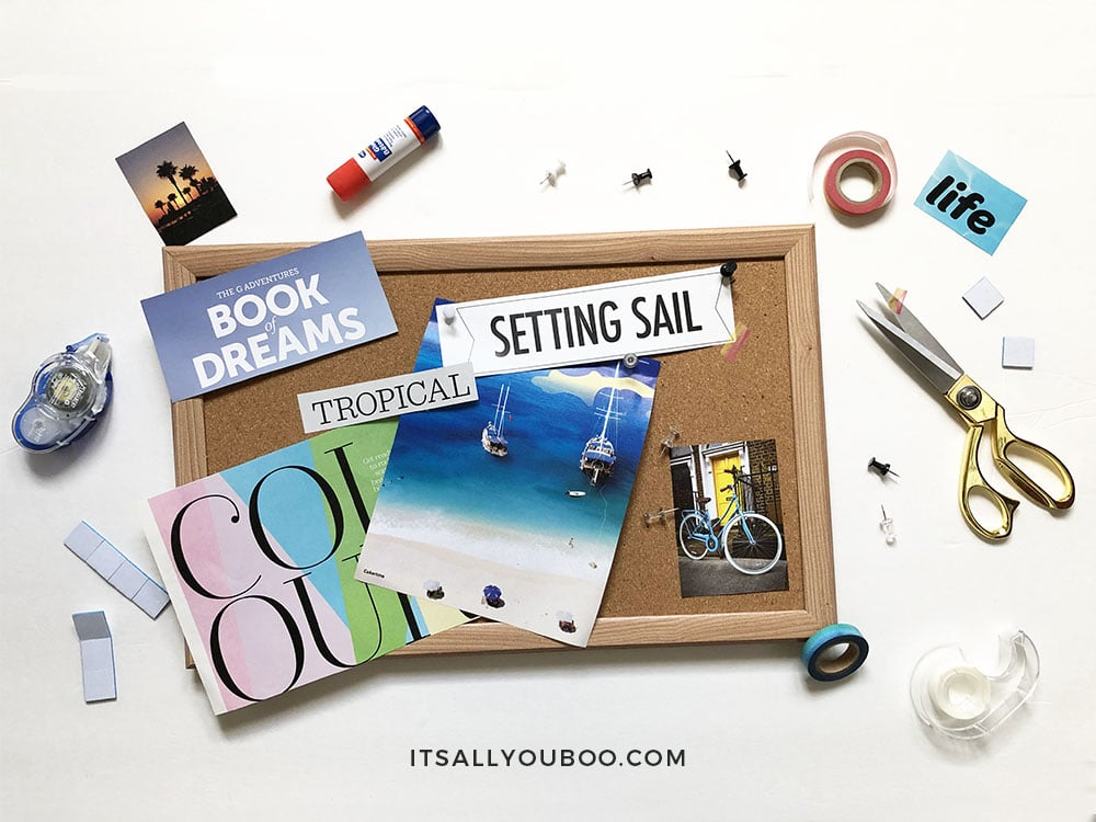 How to Make a Vision Board that Works, Step 2