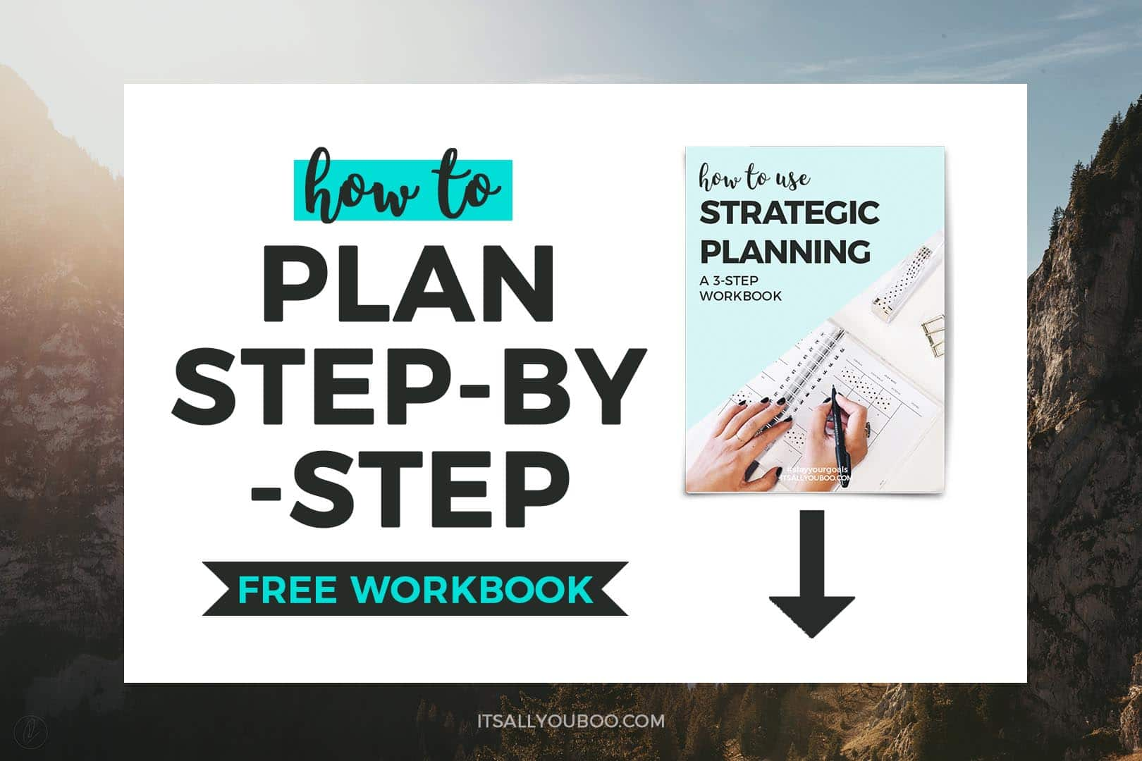How to Plan Step-by-Step FREE WORKBOOK