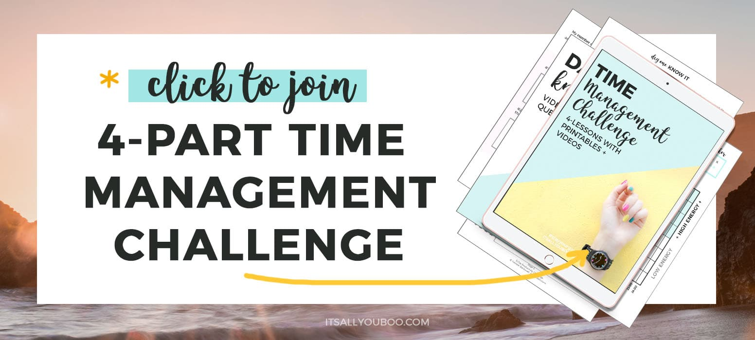 Click to take the FREE Time Management Challenge