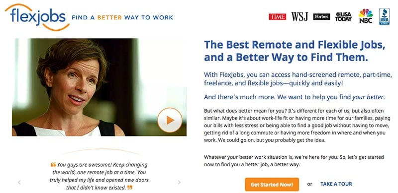 How to Find Work From Home Jobs on FlexJobs
