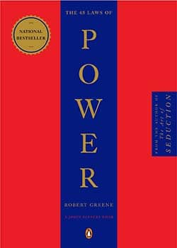 best books for self confidence - 48 Laws of Power by Robert Greene
