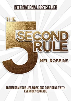 5 Second Rule by Mel Robbins - best productivity books