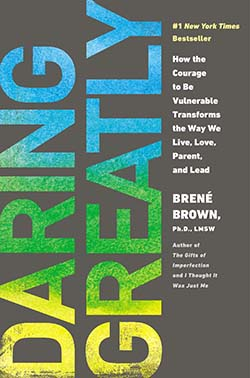 personal development books of all time-Daring Greatly by Brené Brown